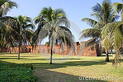 堡垒在马普托,莫桑比克