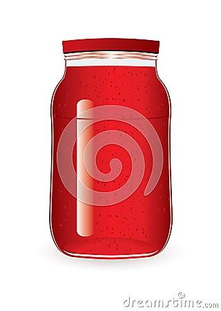 堵塞瓶子草莓