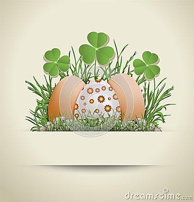 复活节彩蛋节假日纸张模板图片