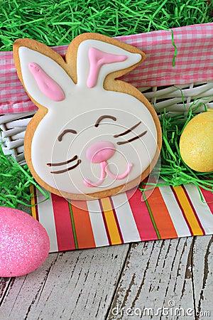 复活节兔子曲奇饼