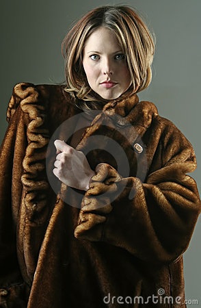 外套毛皮妇女
