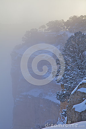 大峡谷冬天