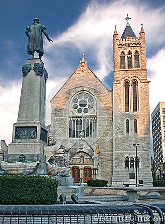 大教堂在西勒鸠斯,纽约