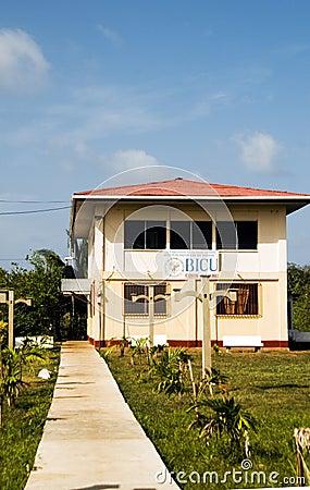 社论Bluefields印第安&加勒比大学马伊斯群岛N 编辑类照片