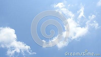 天空图像与移动云 股票视频