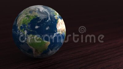 太阳系地球的行星 小行星就在桌子上 股票录像