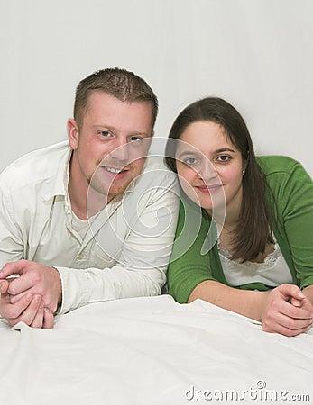夫妇年轻人