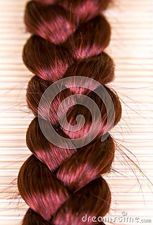 免版税库存照片: 头发纹理图片