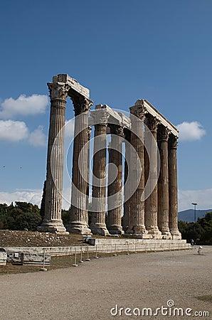 奥林山寺庙宙斯