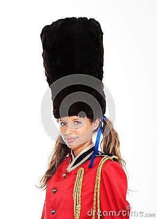 女性英国皇家卫兵