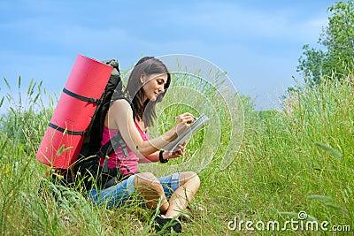 妇女远足者