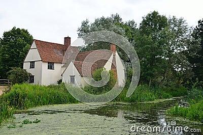 威廉lotts村庄和河