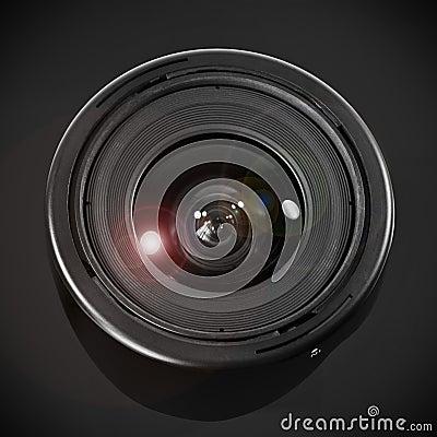宽角度的透镜
