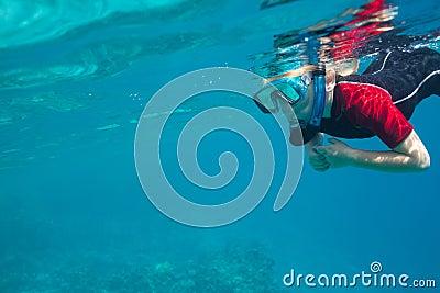 小的潜水员