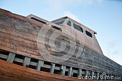 小船遭受了海难