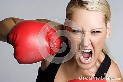 尖叫的拳击手