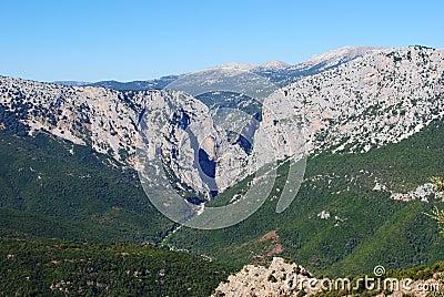 峡谷gorroppu
