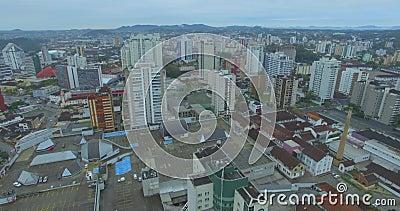 巴西圣卡塔琳娜州茹安维尔市 股票录像