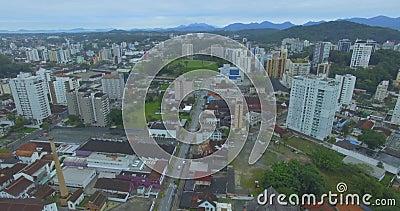 巴西圣卡塔琳娜州茹安维尔市 股票视频