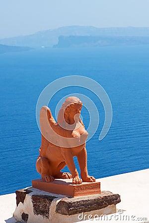 希腊海岛santorini