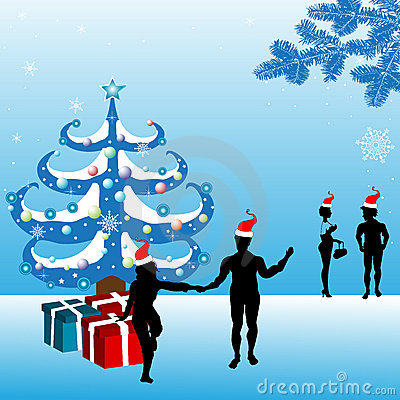 庆祝圣诞节