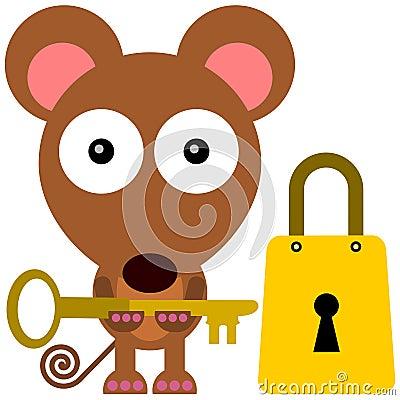 开锁的老鼠