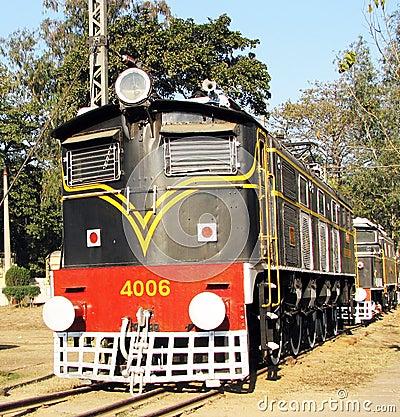 引擎铁路运输