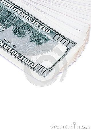 $100张钞票