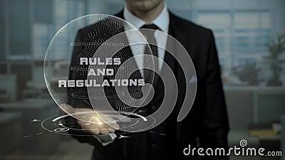 当前在会议的首席律师条例概念 股票录像
