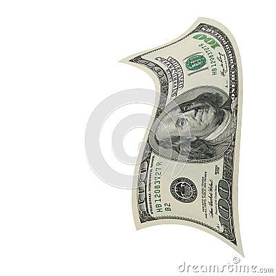 微弱的美元。