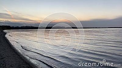 德国维斯马附近的Zirow海滩 影视素材