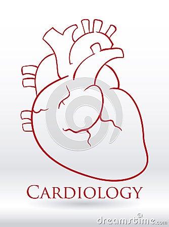 在灰色背景,传染媒介例证的心脏设计.图片