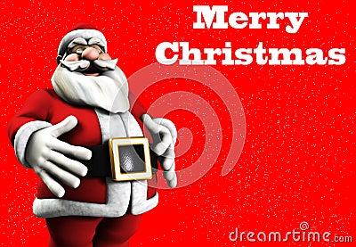 快活的圣诞老人
