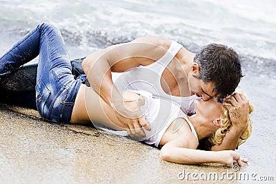 性感夫妇的激情
