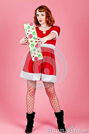 性感的圣诞老人