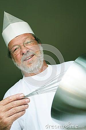 愉快的厨师