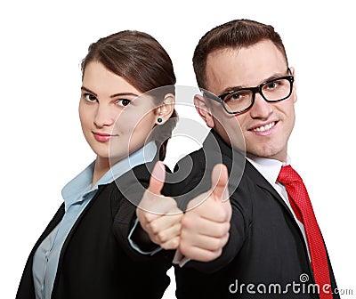 成功的企业夫妇
