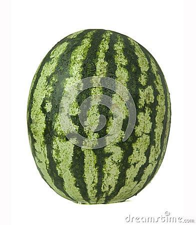 成熟和水多的西瓜