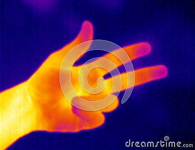 手指自计温度计三