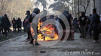 抗议在智利