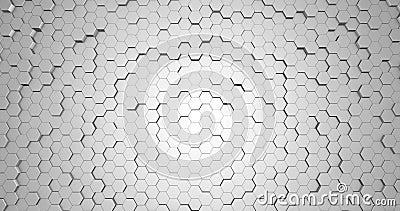 抽象六边形几何面环,光亮洁净最小 股票录像