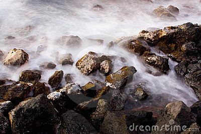 抽象海洋日出