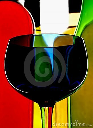 抽象背景酒