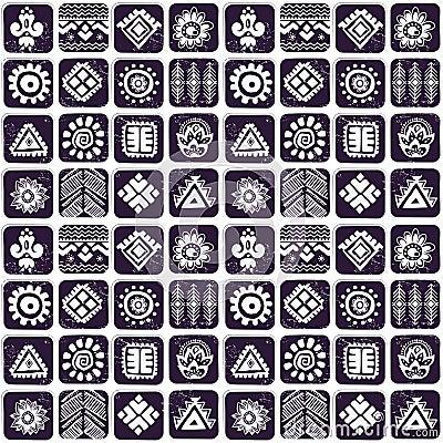 抽象部族样式