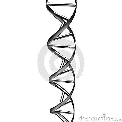 抽象黑色脱氧核糖核酸