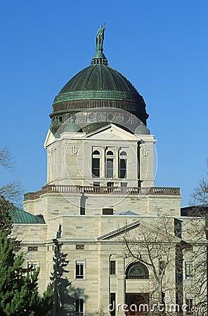 指明蒙大拿的国会大厦