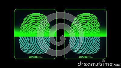 指纹扫描-数字式保安系统,两的过程结果-通入被授予的和否认,阿尔法铜铍