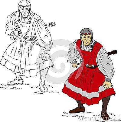 撒拉逊人战士