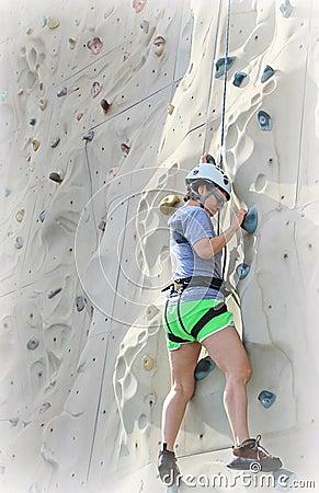 攀岩运动员