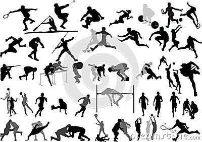 收集体育运动向量